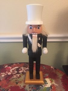 CLICK HERE TO PURCHASE from CustomNutcrackers.com. Get this unique Drum Major Nutcracker gift, or design and personalize your own christmas nutcracker in any hobby, sport, profession, and more at Custom Nutcrackers by Crys. Pinterest.com/CustomCrackers