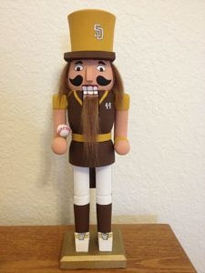 CLICK HERE TO PURCHASE from CustomNutcrackers.com. Get this unique Baseball Nutcracker gift, or design and personalize your own christmas nutcracker in any hobby, sport, profession, and more at Custom Nutcrackers by Crys. Pinterest.com/CustomCrackers