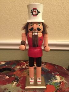 CLICK HERE TO PURCHASE from CustomNutcrackers.com. Get this unique Basketball Nutcracker gift, or design and personalize your own christmas nutcracker in any hobby, sport, profession, and more at Custom Nutcrackers by Crys. Pinterest.com/CustomCrackers