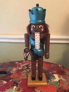 CLICK HERE TO PURCHASE from CustomNutcrackers.com. Get this unique Gymnast Nutcracker gift, or design and personalize your own christmas nutcracker in any hobby, sport, profession, and more at Custom Nutcrackers by Crys. Pinterest.com/CustomCrackers