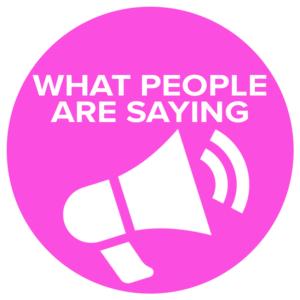 What People Are Saying[O0l0]